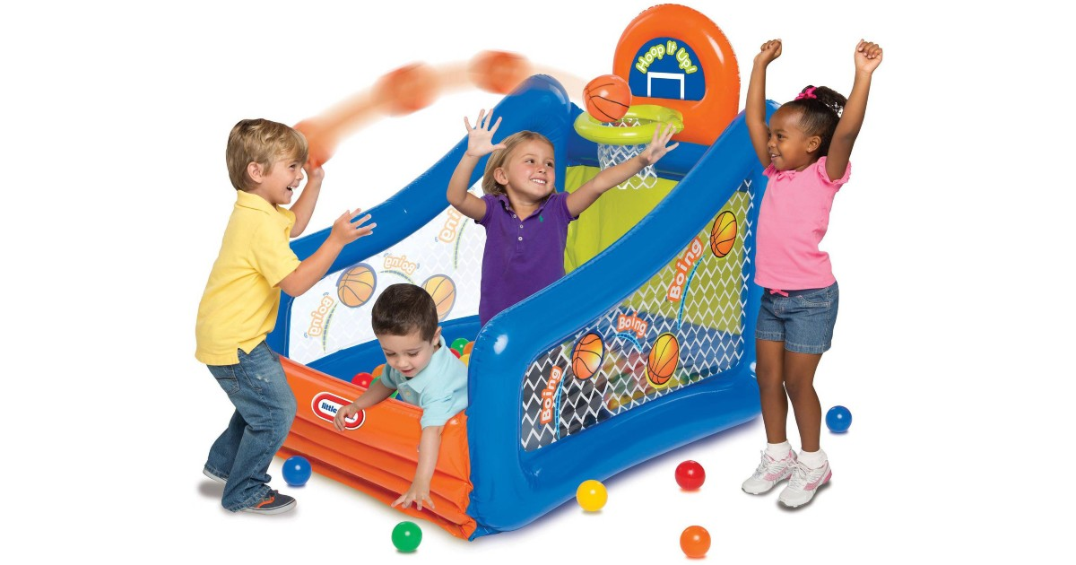 Little Tikes Hoop It Up! Play Center ONLY $29.97 (Reg $60)