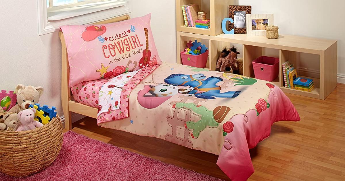 Disney 4-Piece Toddler Bed Set ONLY $25 (Reg. $59)