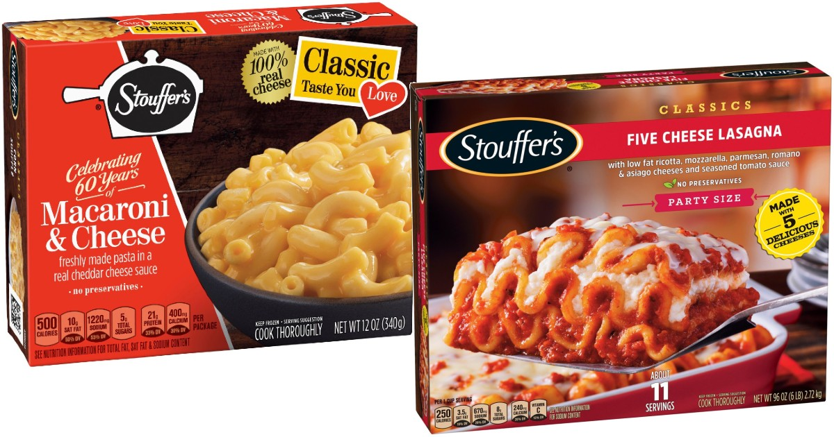 Stouffer's Frozen Meals ONLY $1.74 at Walmart