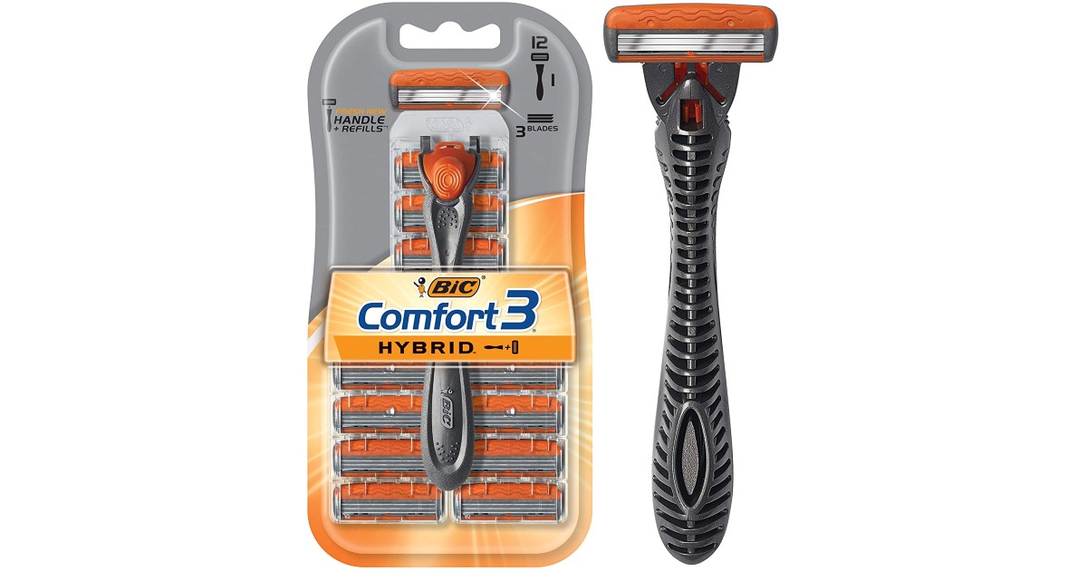 FREE BIC Comfort 3 Hybrid Razor at Walmart + $0.72 Moneymaker