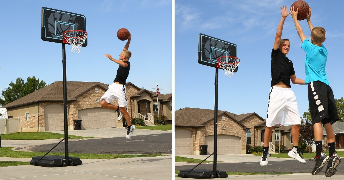Adjustable Portable Basketball...