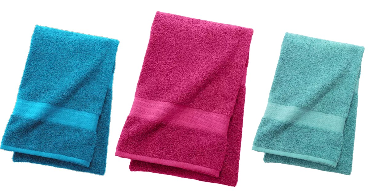 The Big One Solid Bath Towel ONLY $3.19 (Reg $10)