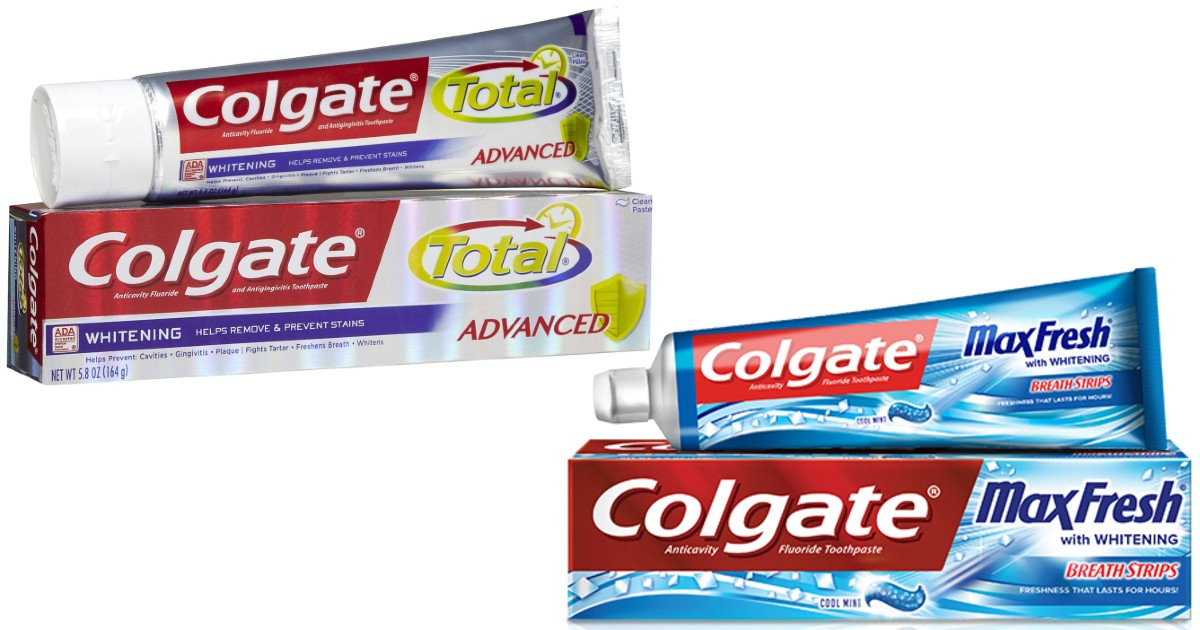 Two FREE Colgate Toothpaste at Walgreens
