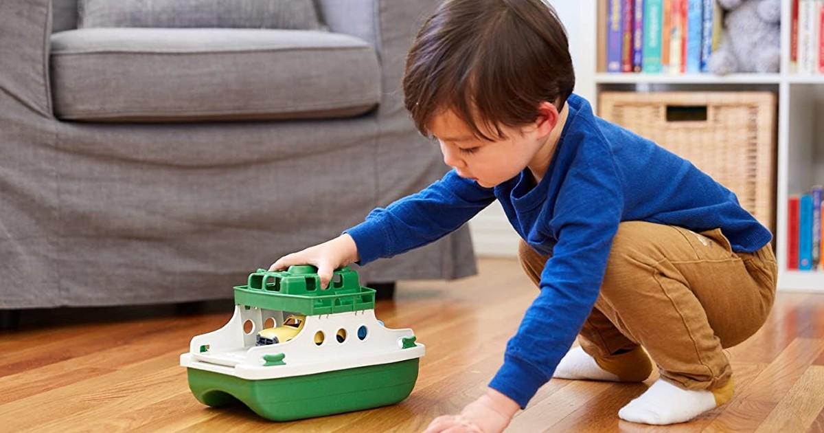 Green Toys Ferry Boat Bathtub Toy ONLY $12.76 (Reg $27)