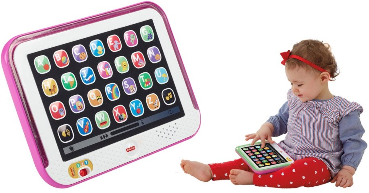 Fisher-Price Laugh & Learn Smart Stages Tablet ONLY $7.97