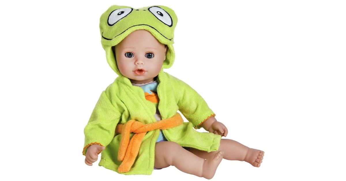 Adora Baby Bath Toy Frog Doll ONLY $20.70 (Reg. $52)