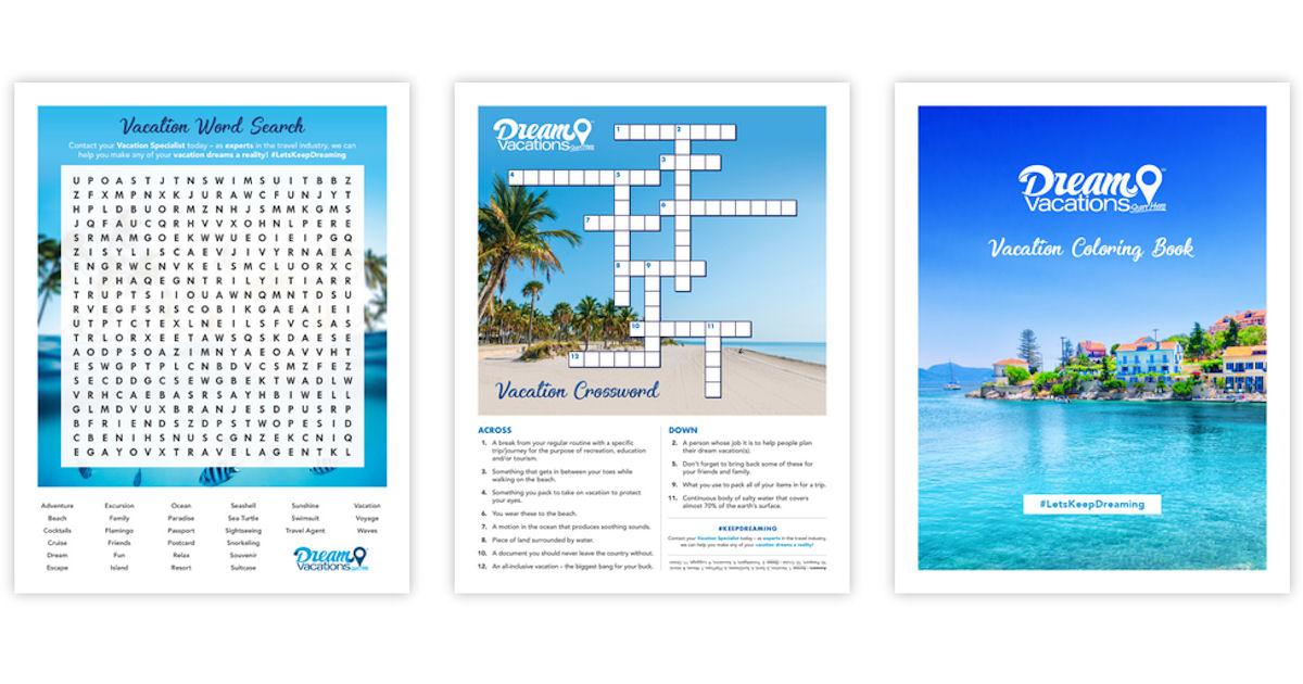 FREE Bingo, Word Search, Cross...