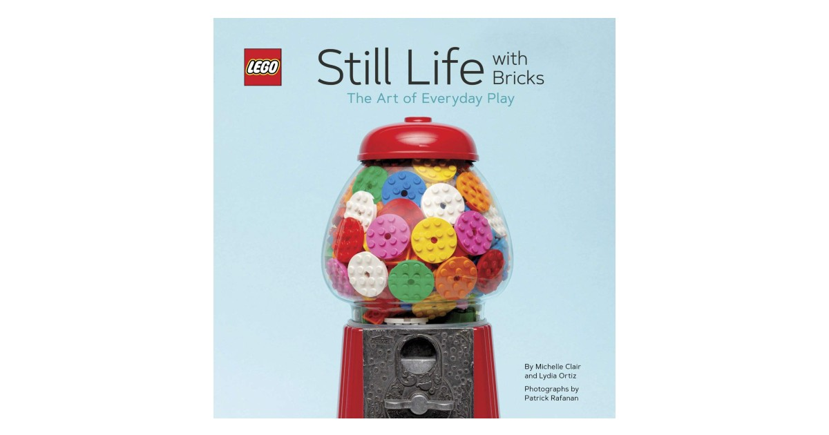 LEGO Still Life with Bricks Book on Amazon