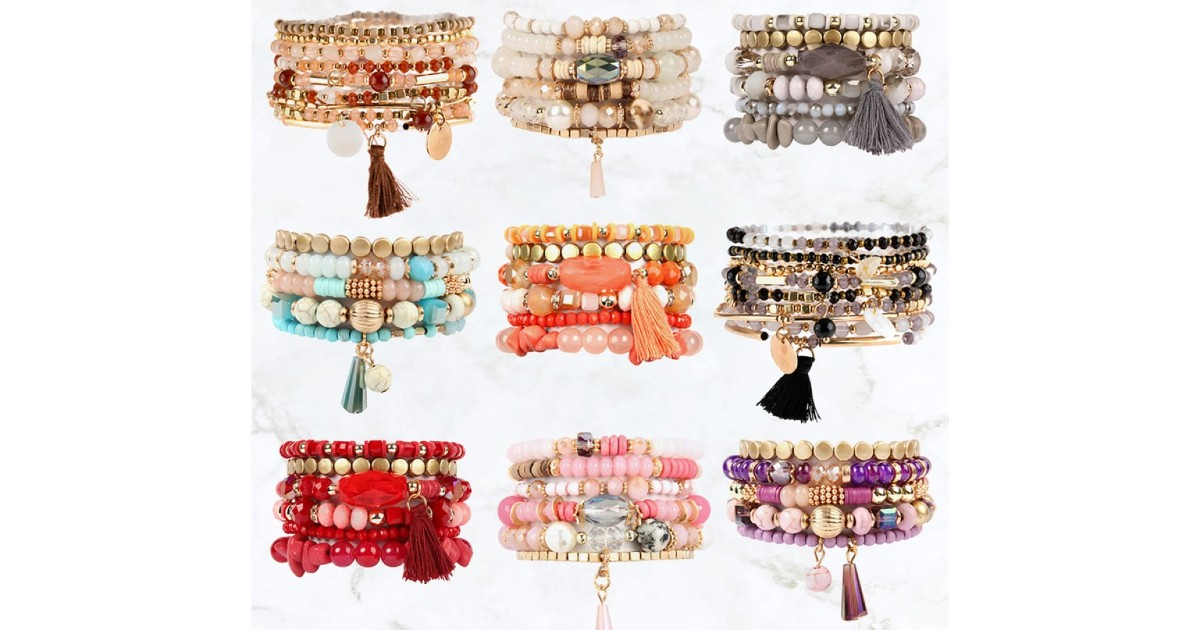 Charm Pendant Bracelets ONLY $7.99 (Reg. $20)