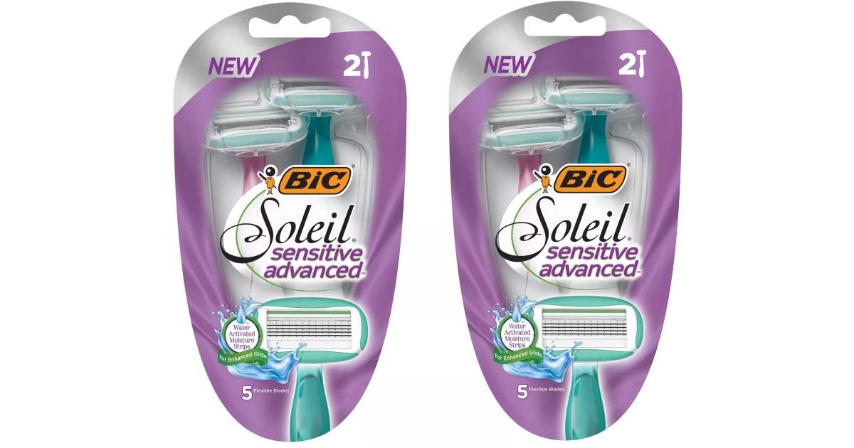 FREE BIC Soleil Advanced Sensitive 2-Pack at Target