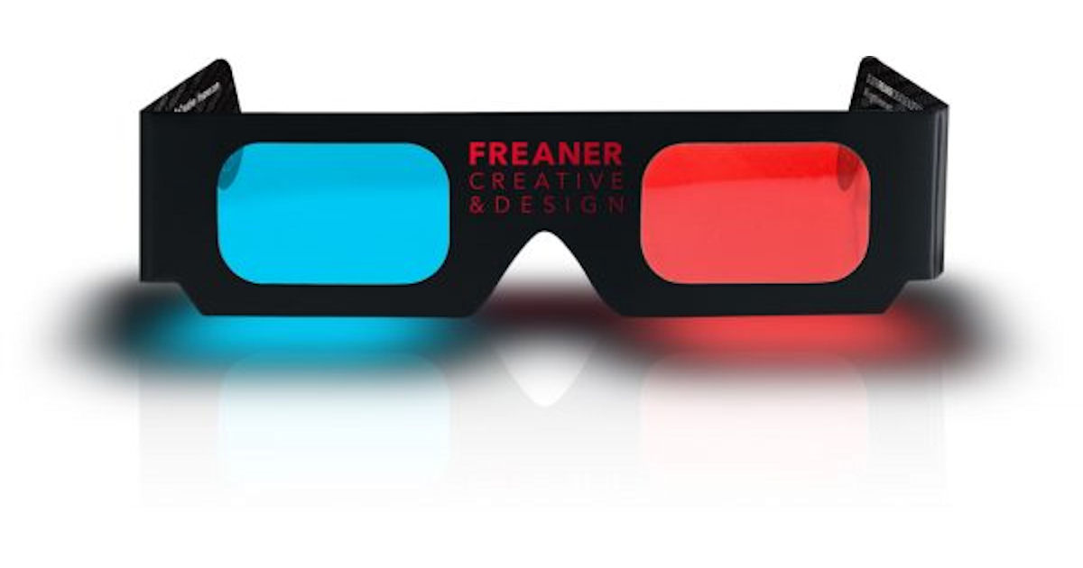 FREE Freaner 3D Glasses...