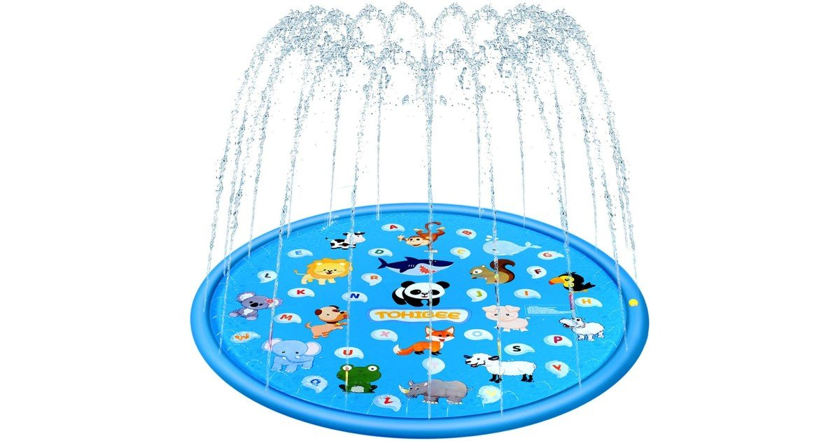Sprinkler Splash Pad ONLY $10.99 (Reg. $30)