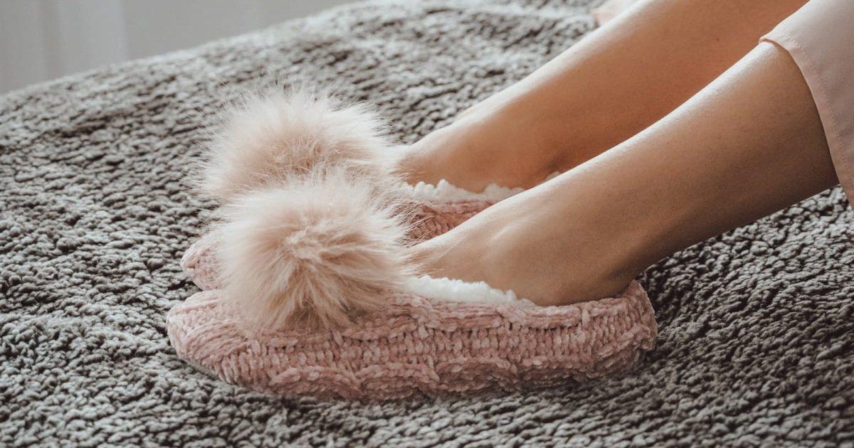 MUK LUKS Women's Novelty Knit Ballerina Slippers $9.99 (Reg $20)