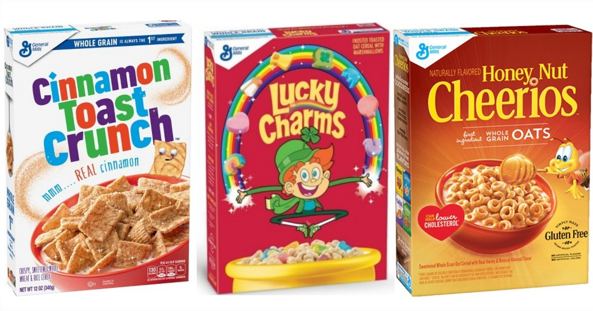 General Mills Cereal ONLY $1.38 Each at CVS