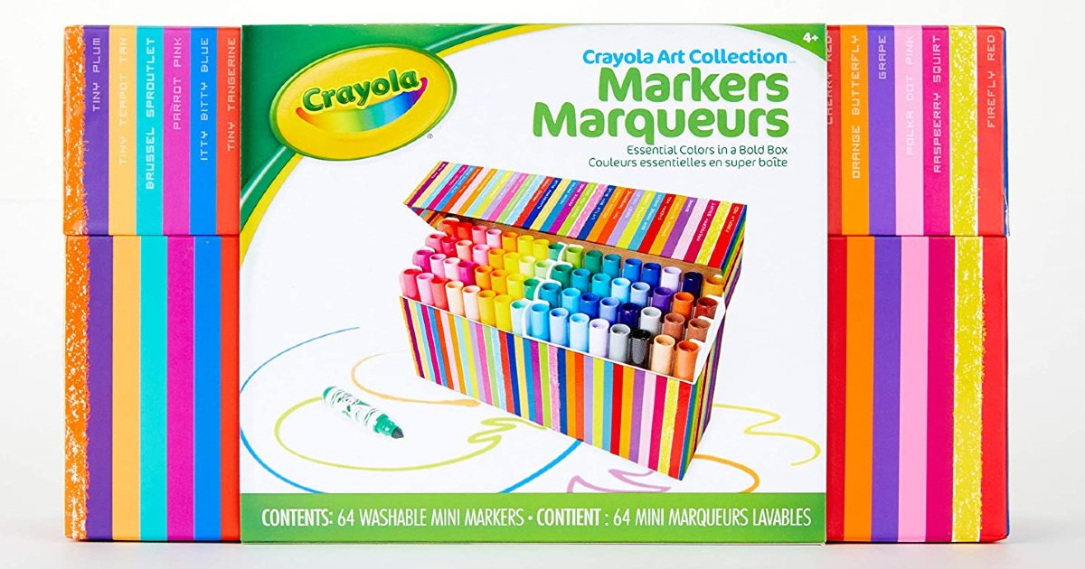 Crayola Pip Squeaks Markers 64-Count ONLY $11.20 (Reg. $22)