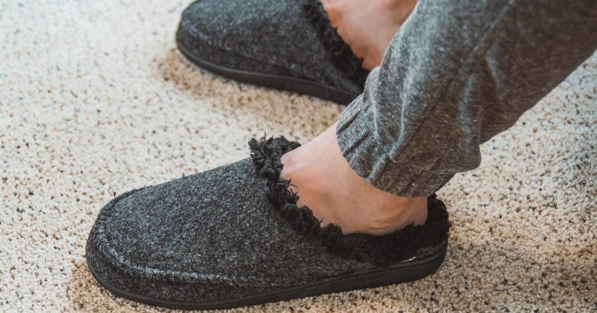 MUK LUKS Men's Clog Slippers ONLY $13.99 (Reg. $30)