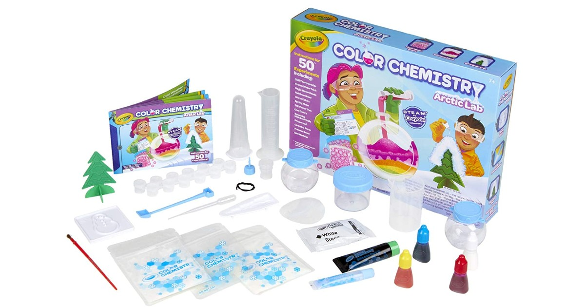 Crayola Arctic Color Chemistry Set ONLY $13.60 (Reg. $25)
