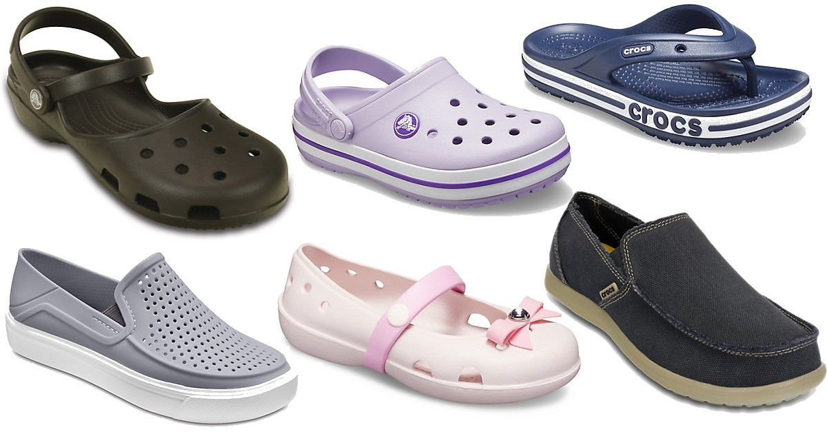 New Markdowns! Up To 60% Off For Labor Day at Crocs.com
