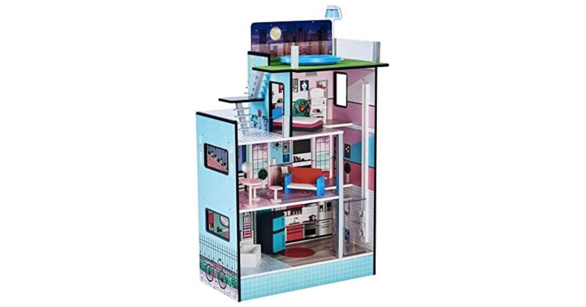 Teamson Kids Dollhouse with Elevator $59.99 (Reg. $150)