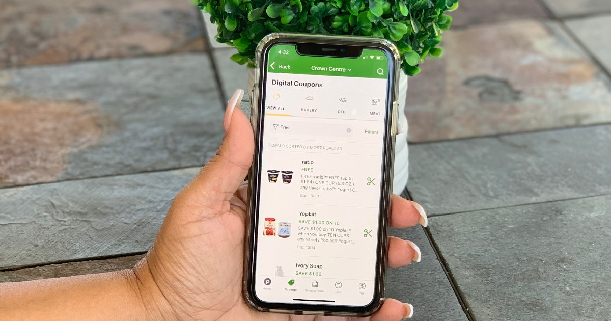 FREE Groceries with The Publix App