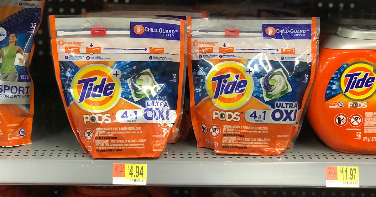 Tide Pods at Walmart for $0.94 with Coupon AND Ibotta