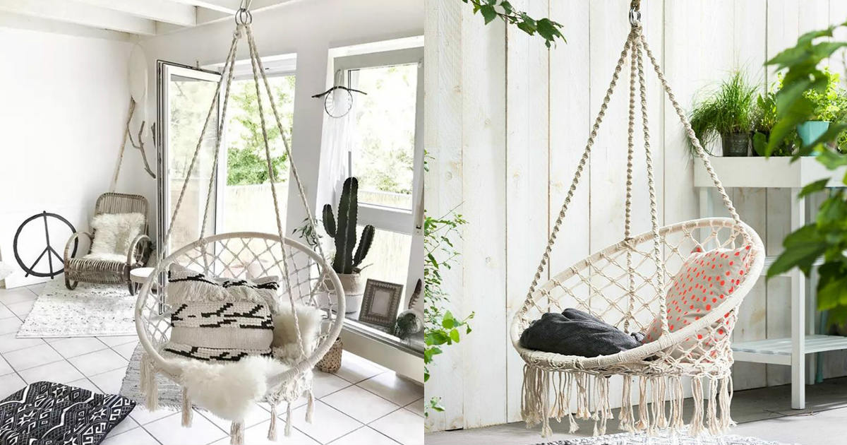 Hanging Hammock Swing Chair ON...