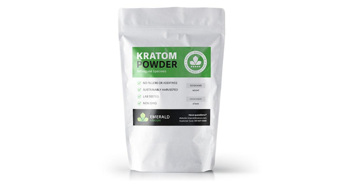 FREE Emerald Kratom Powder Sam...