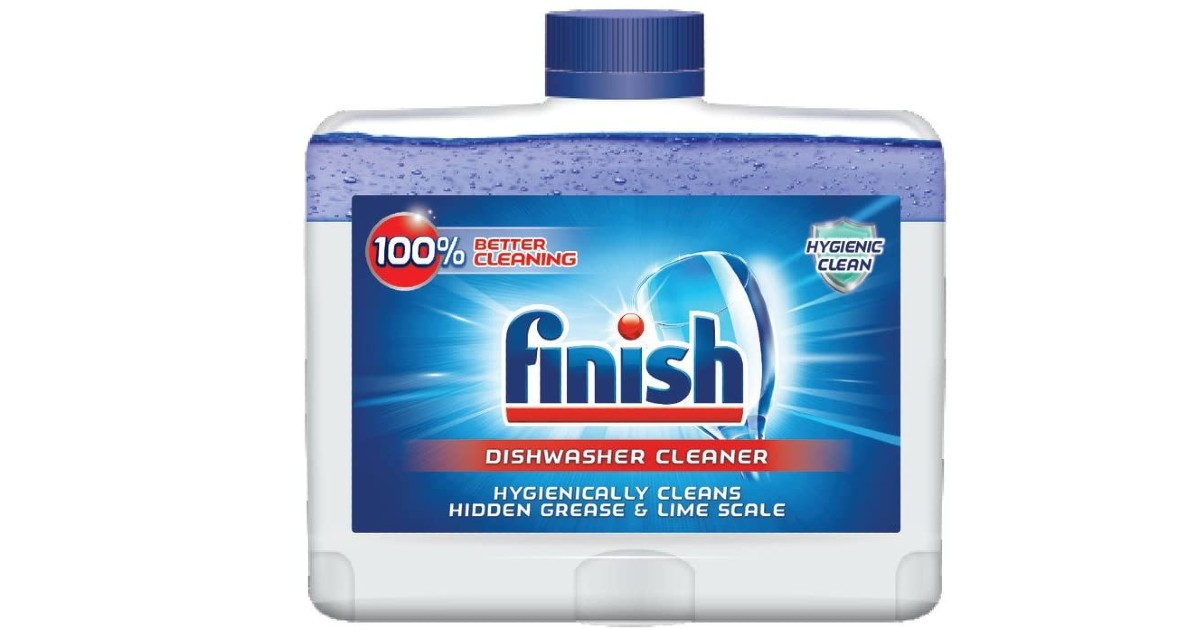 Finish Dual Action Dishwasher Cleaner ONLY $3.20 (Reg. $6)