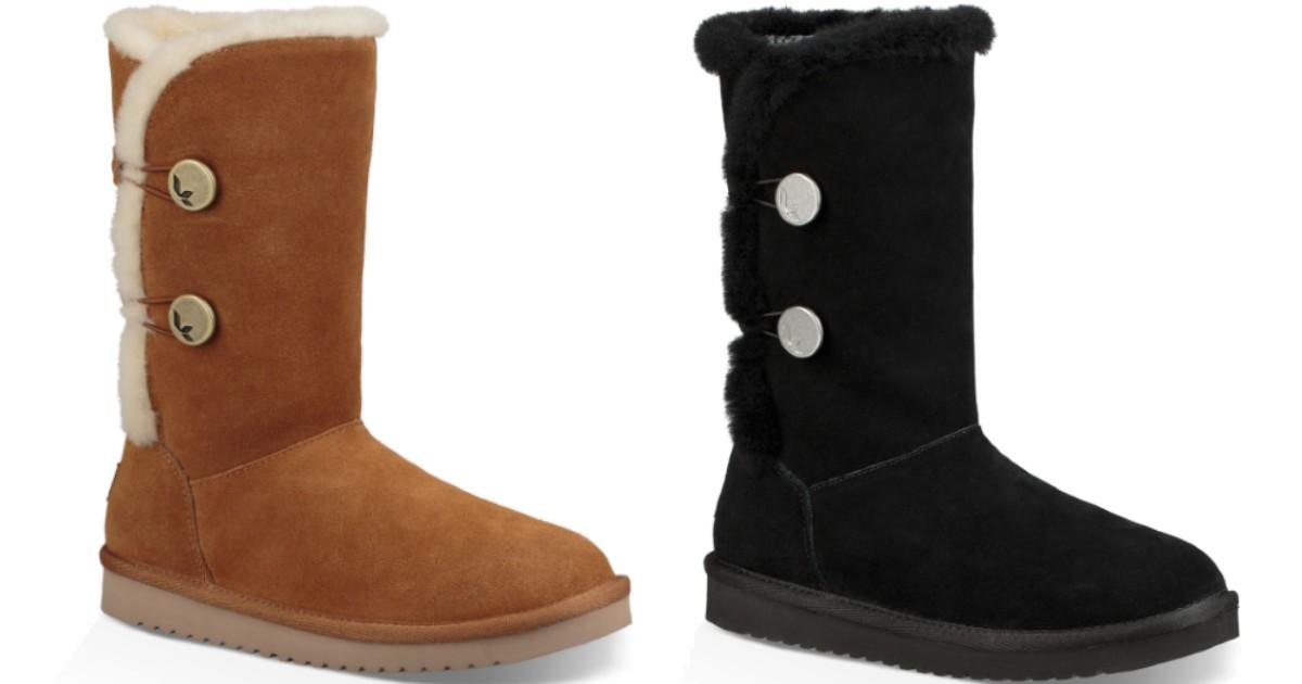 Koolaburra by UGG Women's Winter Boots ONLY $39.99 (Reg $100)
