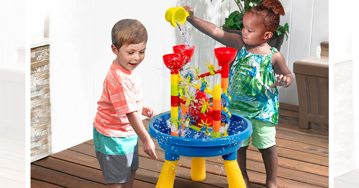 Gymax 2 in 1 Sand and Water Table ONLY $34.99 (Reg $100)