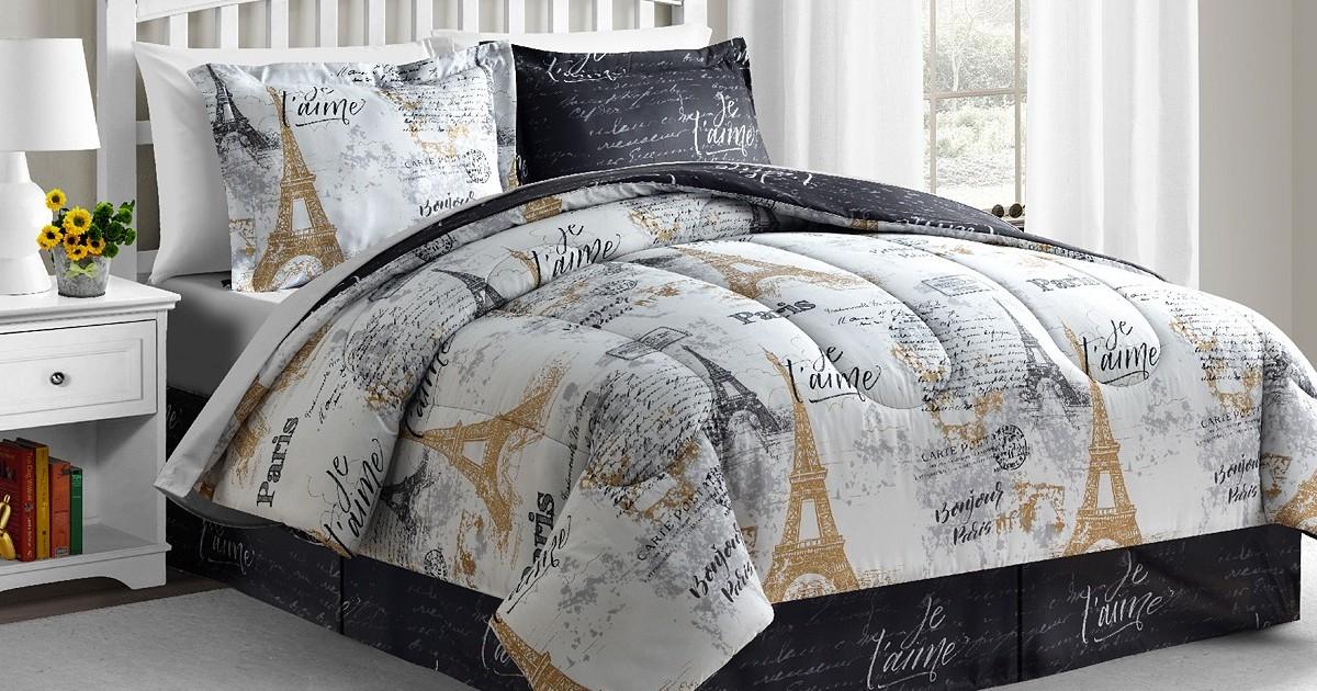 Reversible 8-Piece Comforter Sets