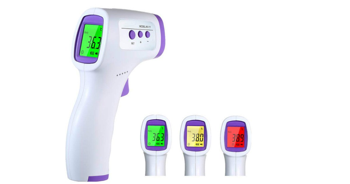 touchless thermometer on Amazon