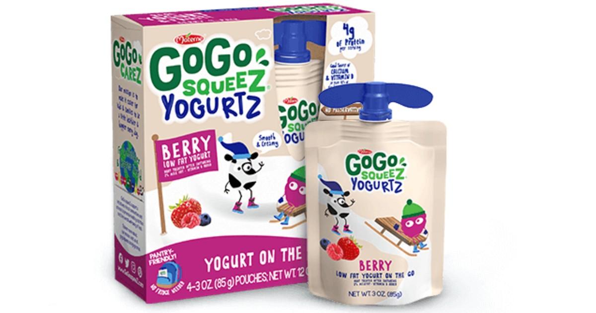 FREE GoGo SqueeZ YogurtZ Pouches at Target