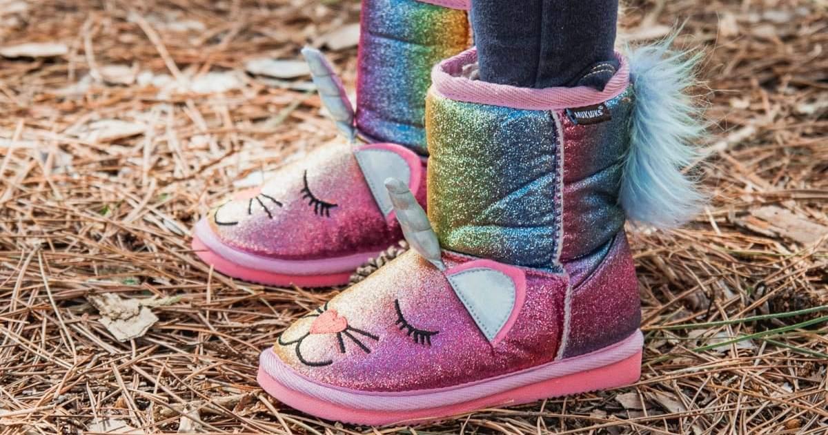 MUK LUKS Glitter Zoo Baby Boots ONLY $17.99 (Reg. $44)