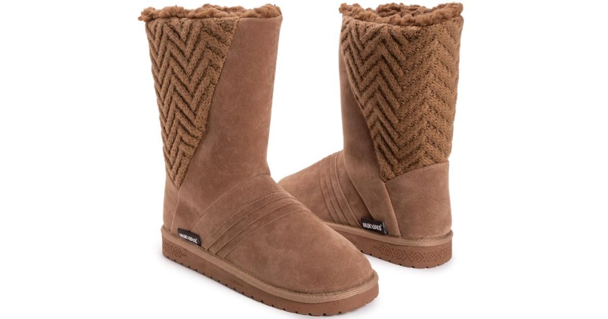 MUK LUKS Women's Sarina Boots ONLY $39.99 (Reg $65)
