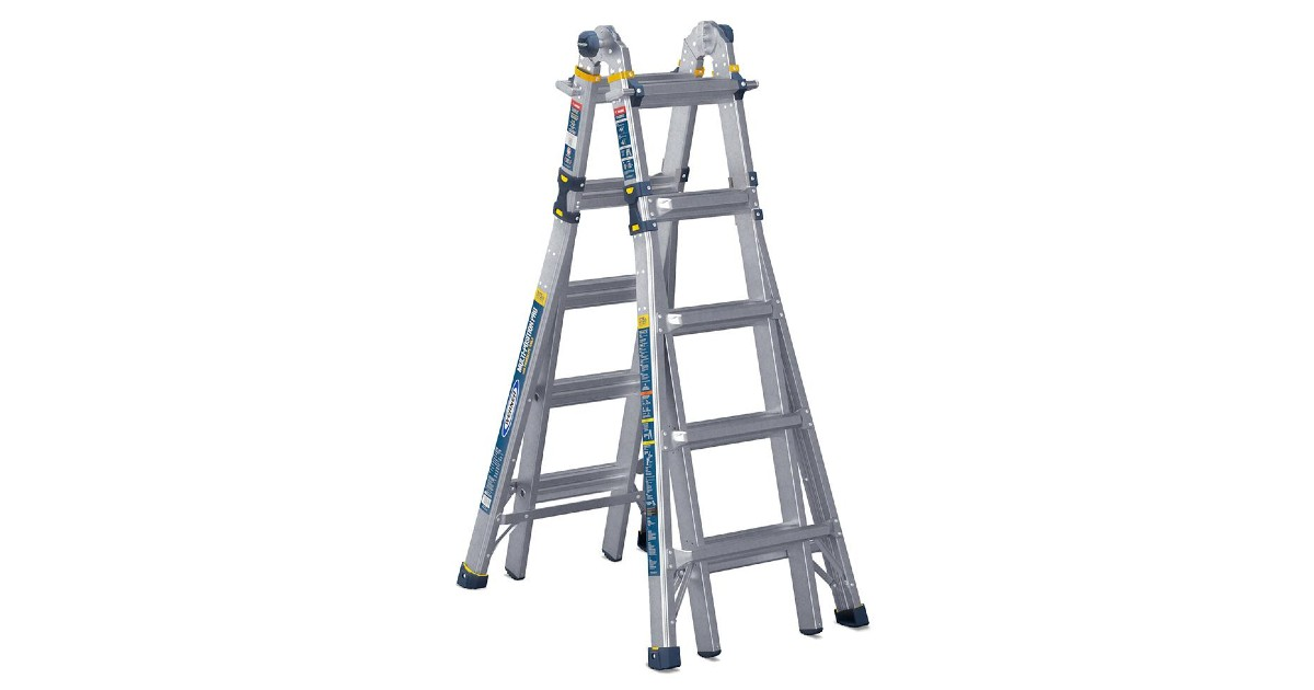Aluminum 5-in-1 Multi-Position Pro Ladder $99.88 (Reg. $229)
