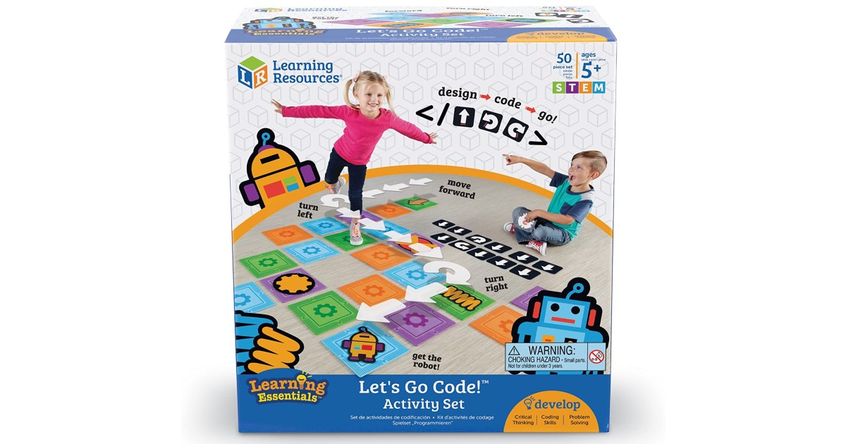 Learning Resources Activity Set ONLY $16.99 (Reg $35)