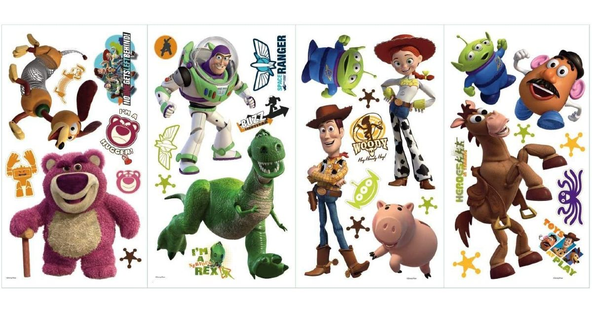 Toy Story Glow In The Dark Wall Decals $7.99 (Reg. $16)