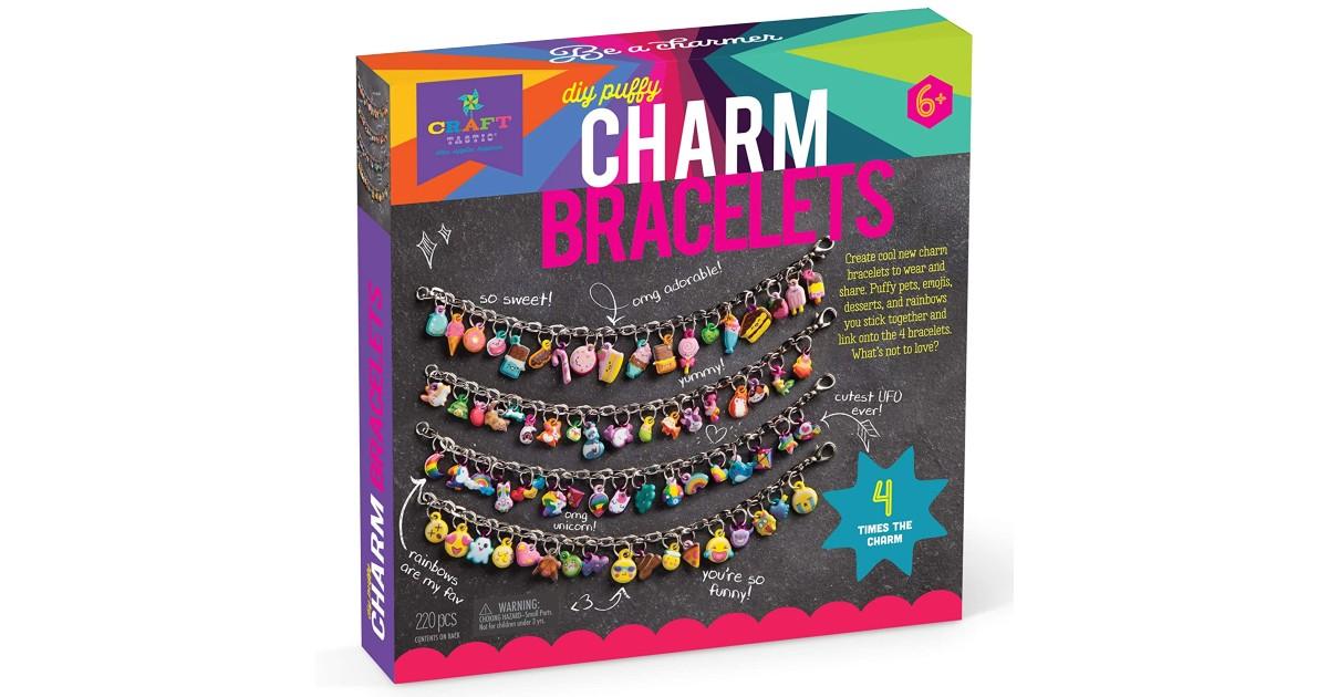 Craft-tastic DIY Charm Bracelets Kit ONLY $9.52 (Reg. $17)