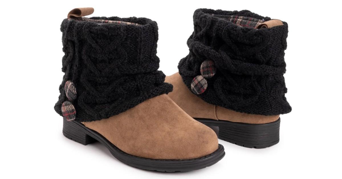 MUK LUKS Women's Patti Boots ONLY $29.99 Shipped (Reg. $76)