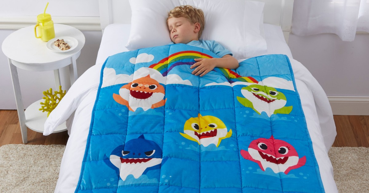 Baby Shark Kids Weighted Blanket ONLY $14.97 (Reg $50)
