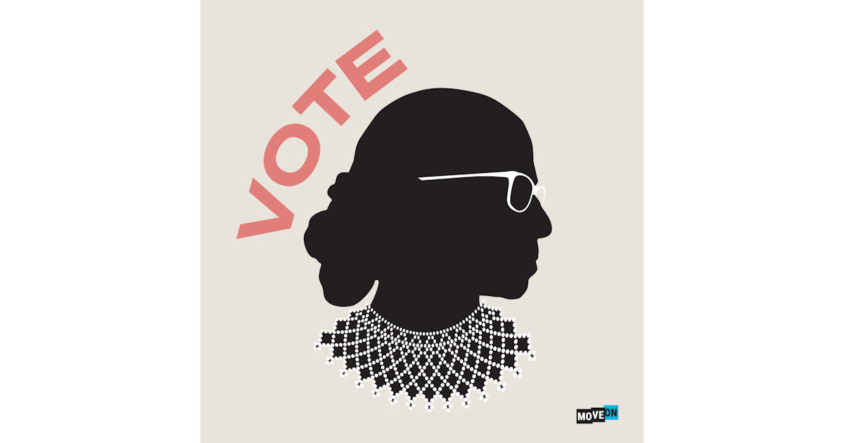 FREE RBG Vote Sticker...