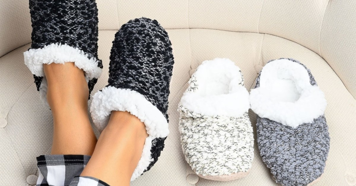 Cozy Lounge Slippers at Jane