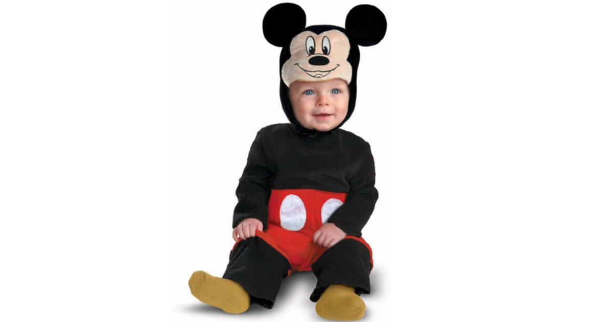 Disney Mickey Mouse Halloween Costume ONLY $15 (Reg $48)