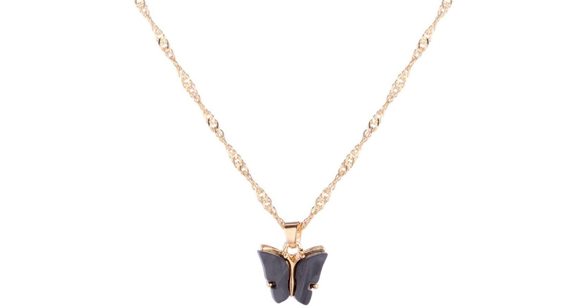 Simply Butterfly Necklace at Amazon