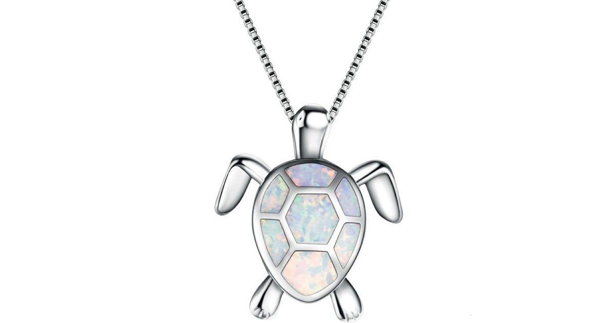 Cute Turtle Pendant Necklace ONLY $1.66 Shipped