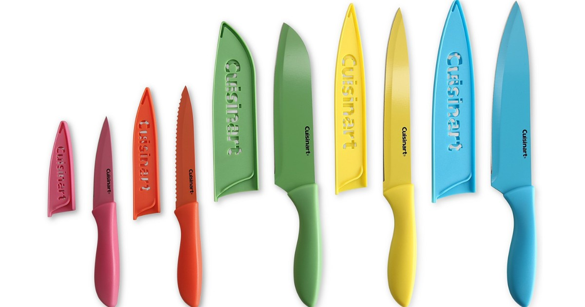 Cuisinart 10-Pc Ceramic-Coated Cutlery Set ONLY $18.74 (Reg $40)