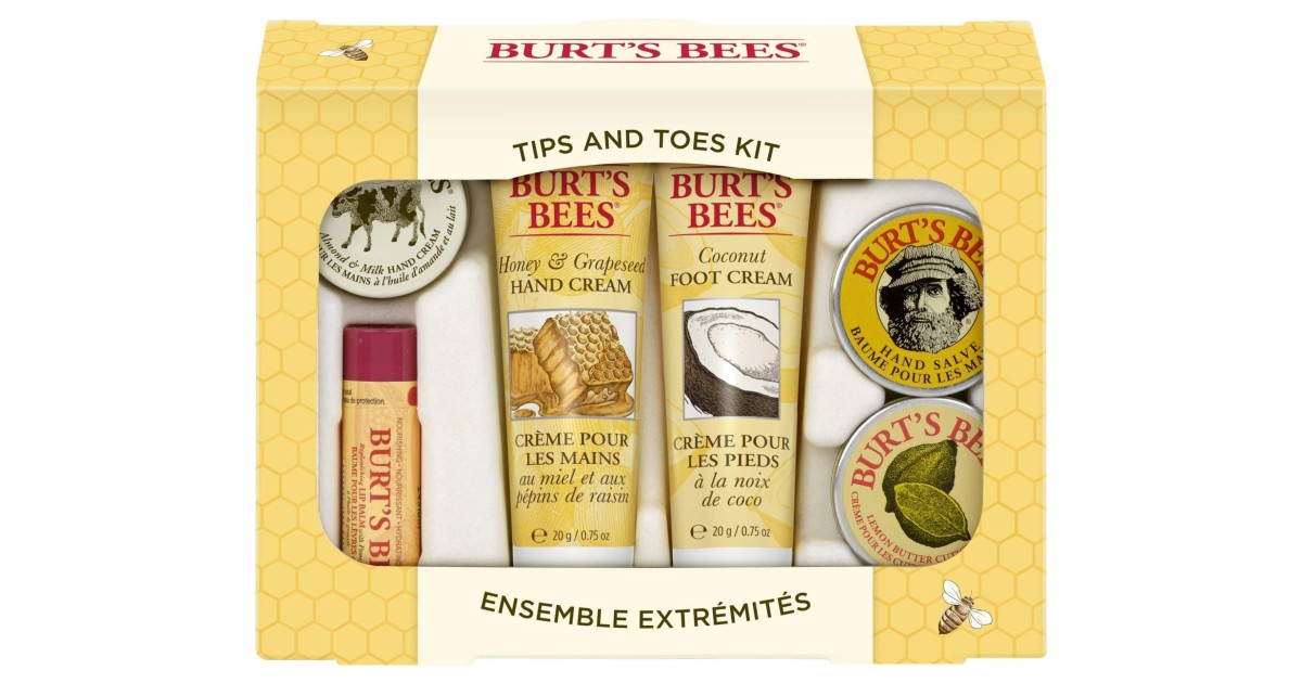 Burt's Bees Tips and Toes Kit Gift Set ONLY $7.99 (Reg. $13)