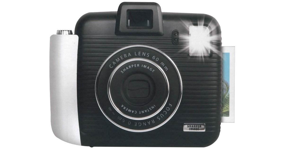 Sharper Image Instant Camera K...