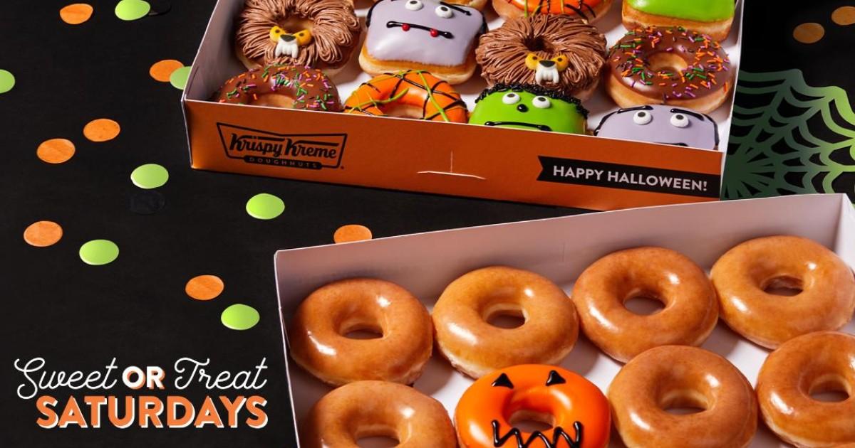 Krispy Kreme Sweet-or-Treat Dozen ONLY $1 with Dozen Purchase